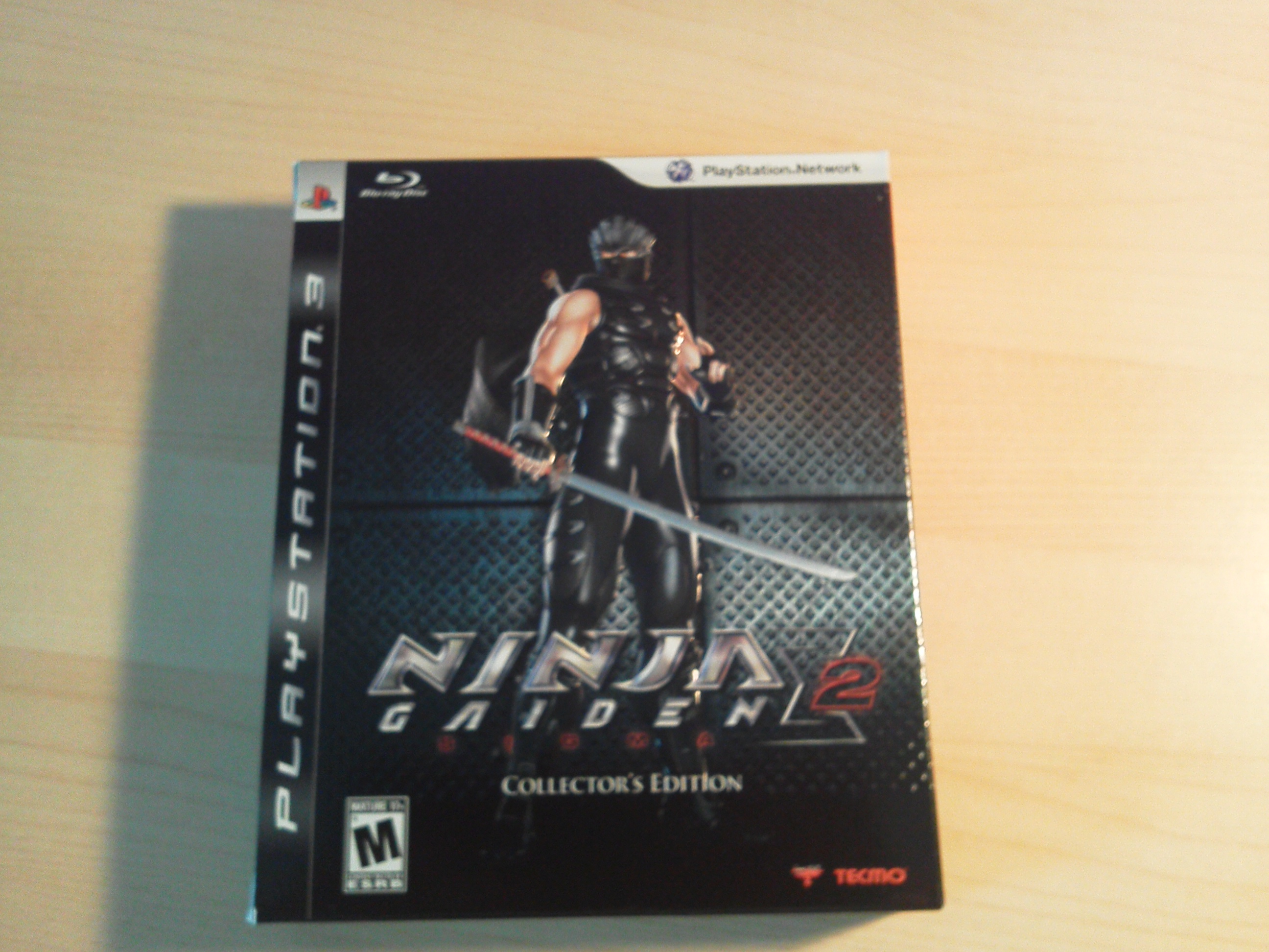 Ps3 Le Unboxing Ninja Gaiden Sigma 2 Collector S Edition Re